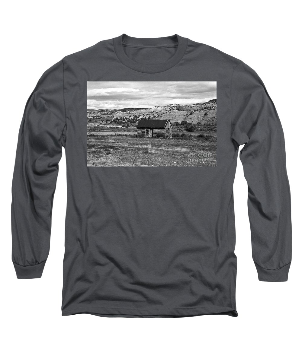 Utah Long Sleeve T-Shirt featuring the photograph Courage by Kathy McClure
