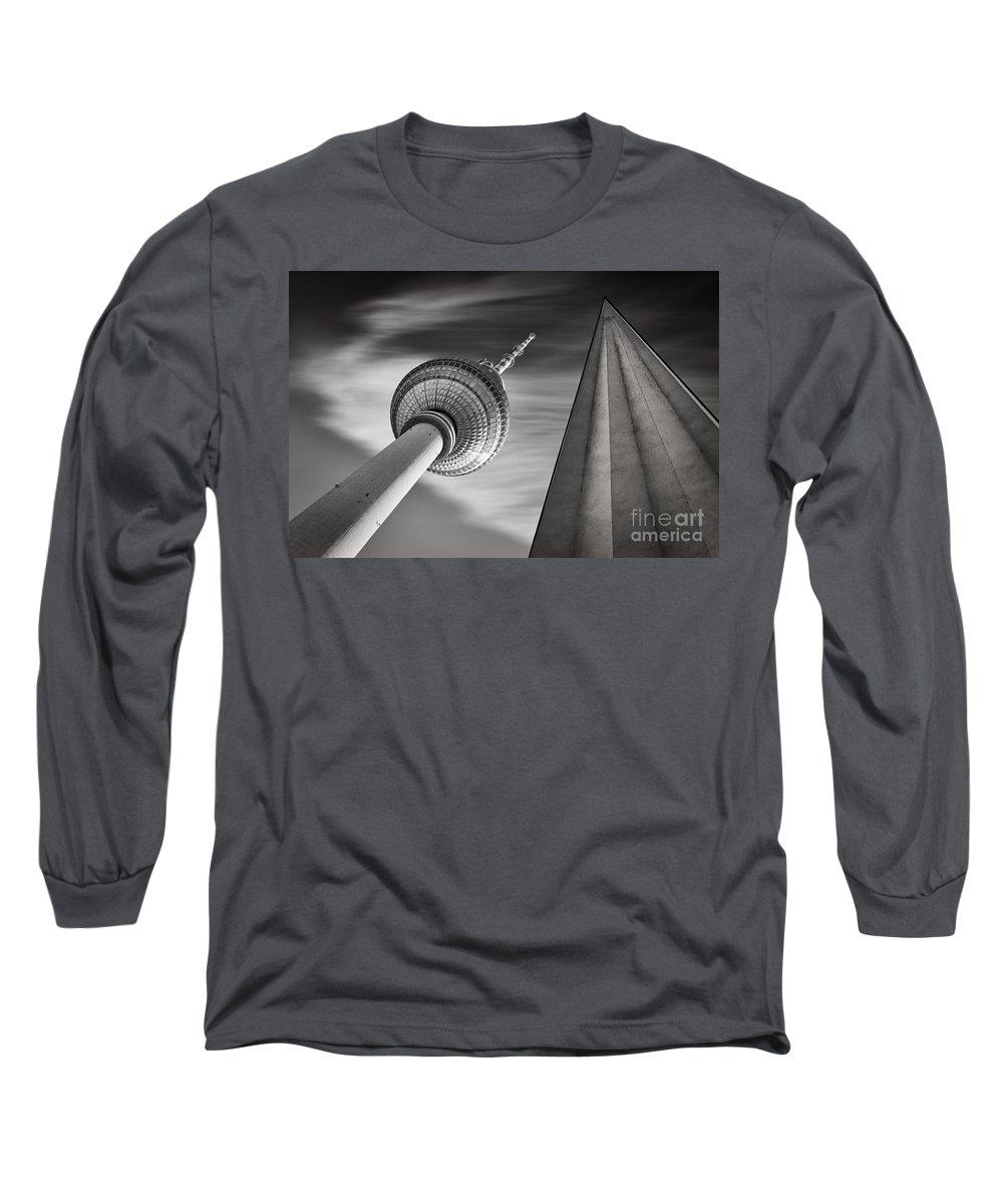 Tv Tower Photographs Long Sleeve T-Shirts