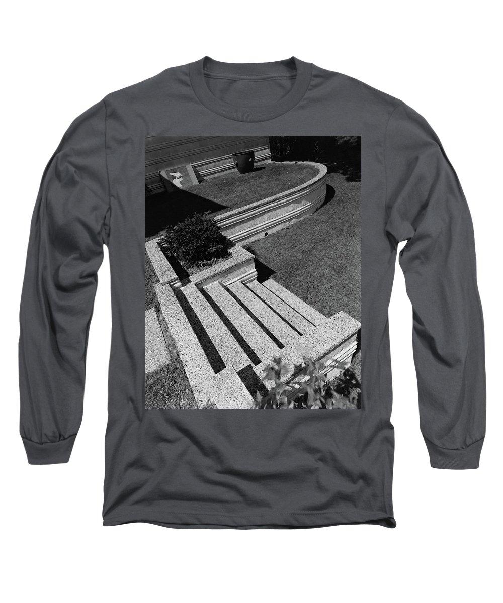 Exterior Long Sleeve T-Shirt featuring the photograph Kenneth Kassler's Garden by Robert M. Damora
