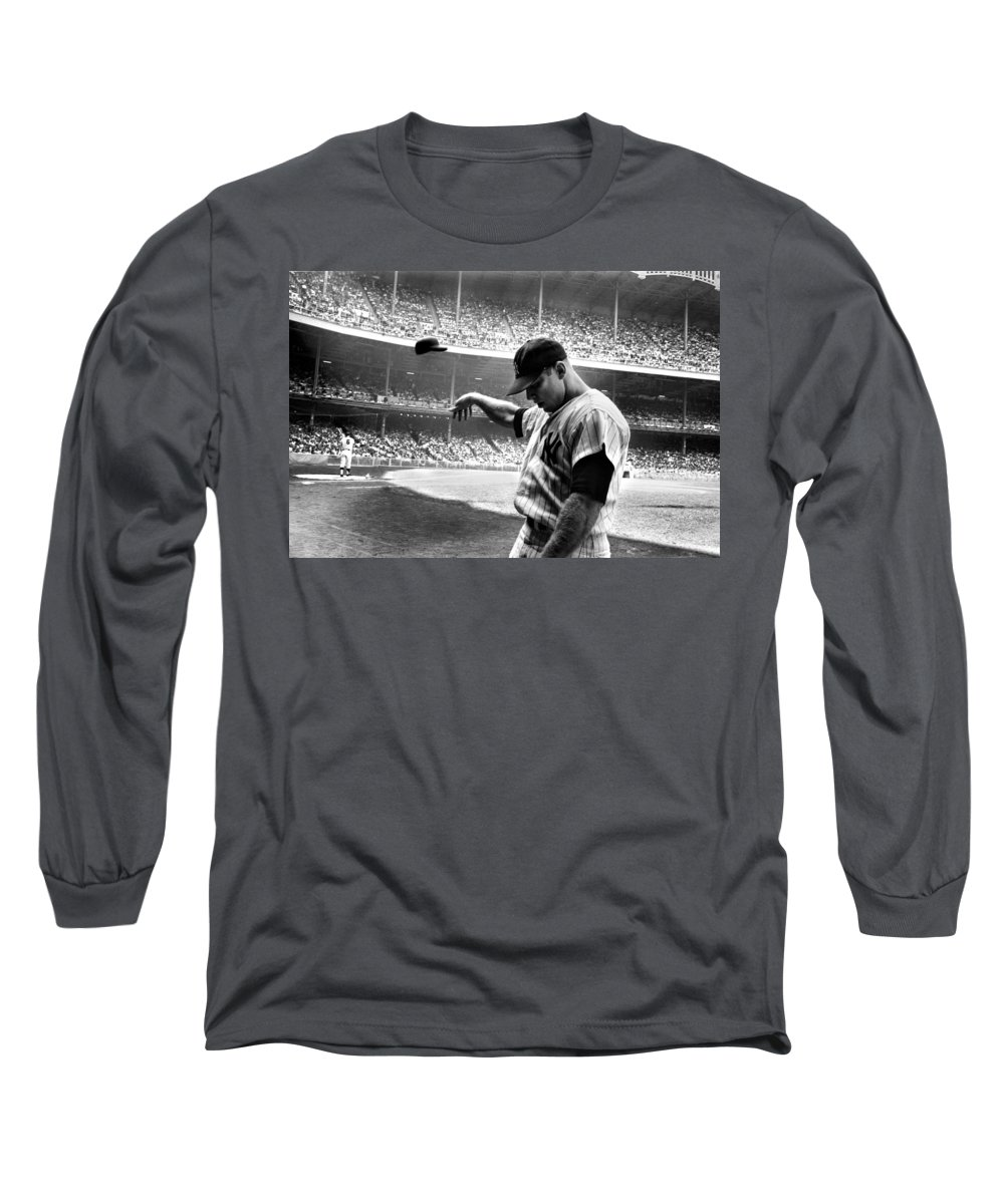 Mickey Mantle Long Sleeve T-Shirts