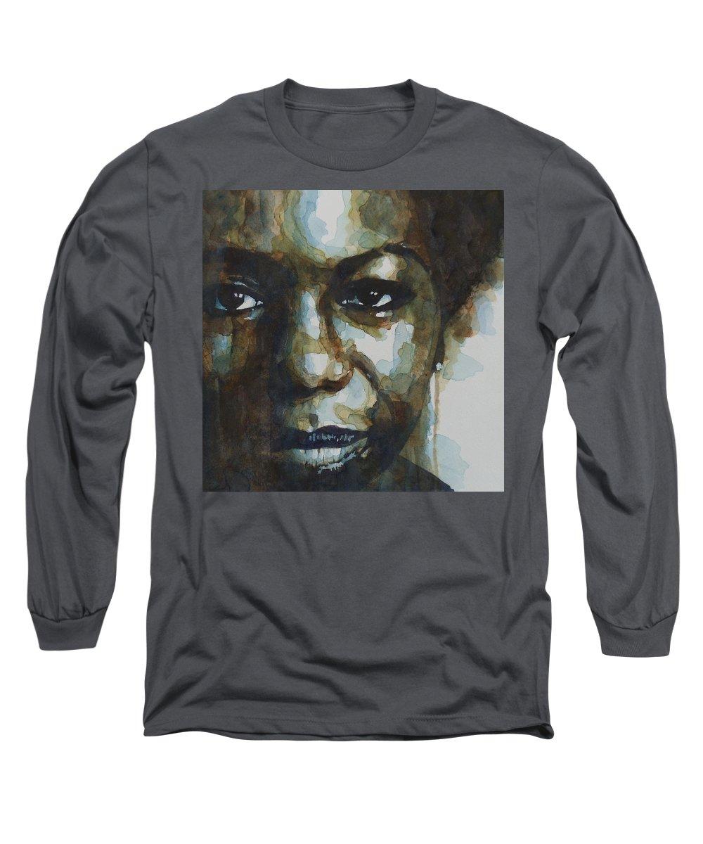 Portraiture Long Sleeve T-Shirts