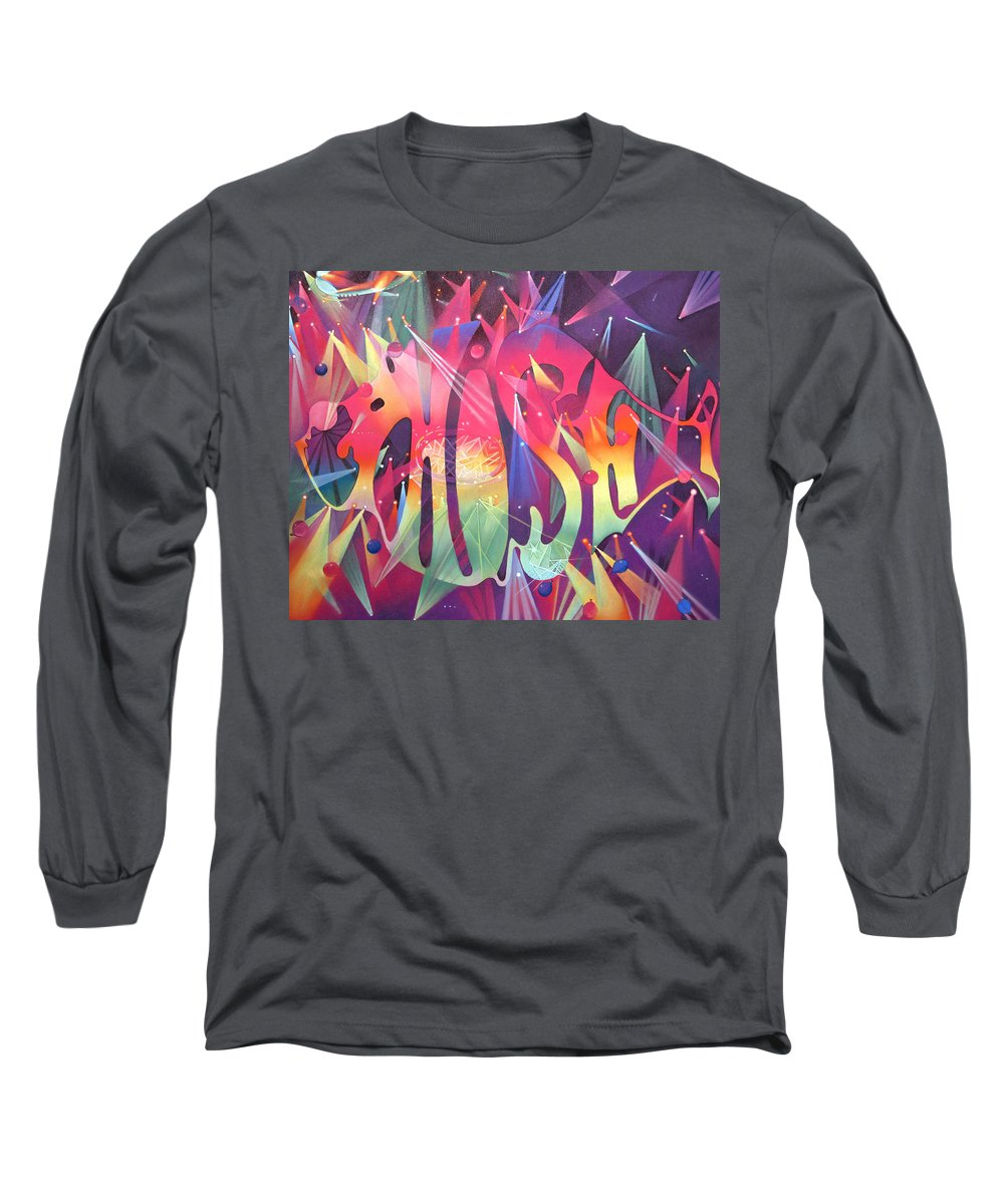 Phish Long Sleeve T-Shirt featuring the drawing Phish The Mother Ship by Joshua Morton