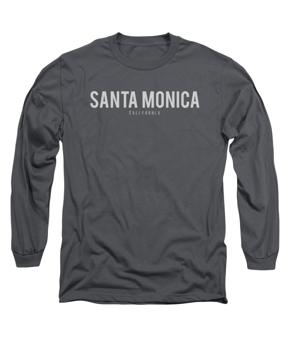 Santa Monica Long Sleeve T-Shirts