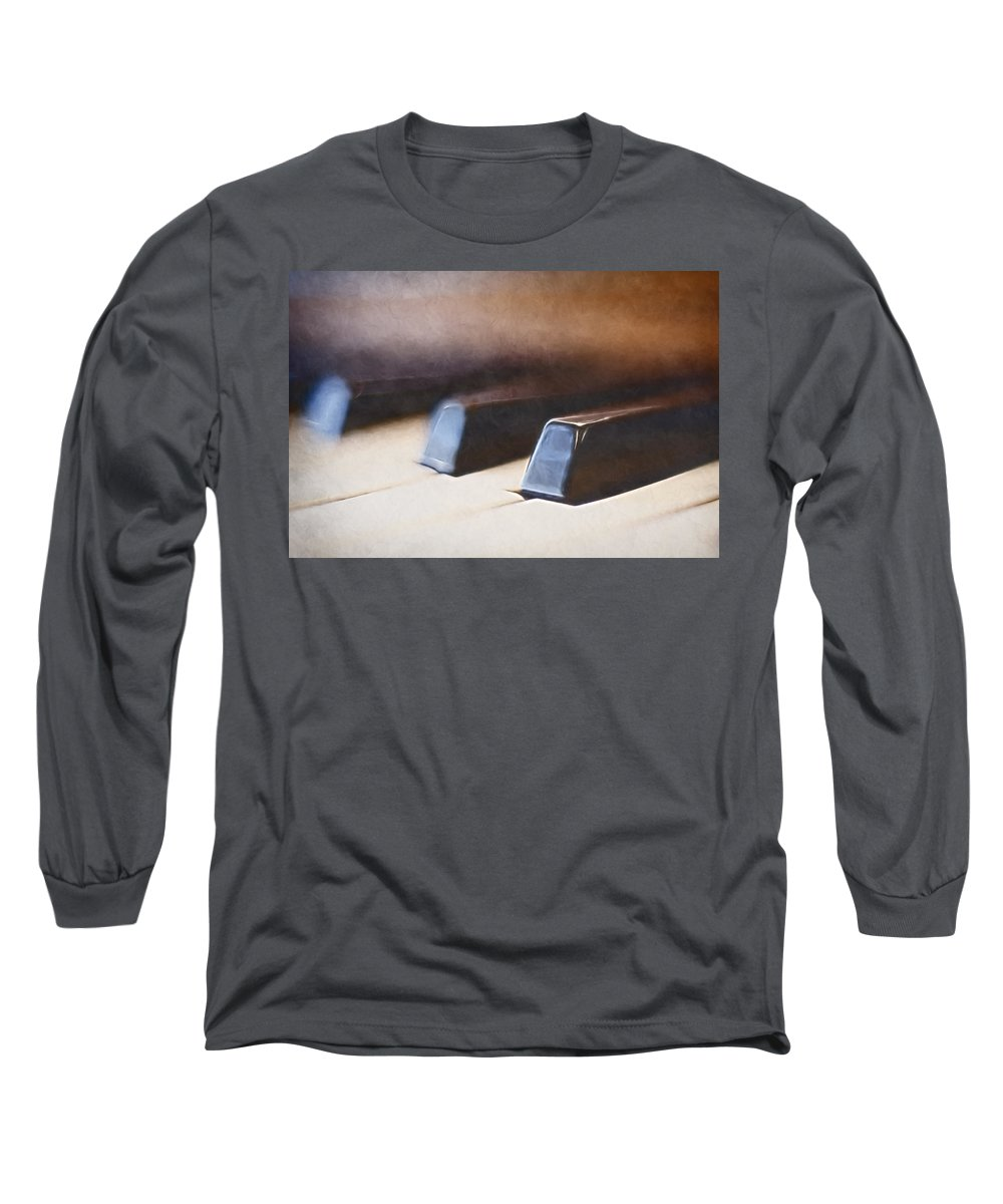 Piano Long Sleeve T-Shirt featuring the photograph The Black Keys by Scott Norris