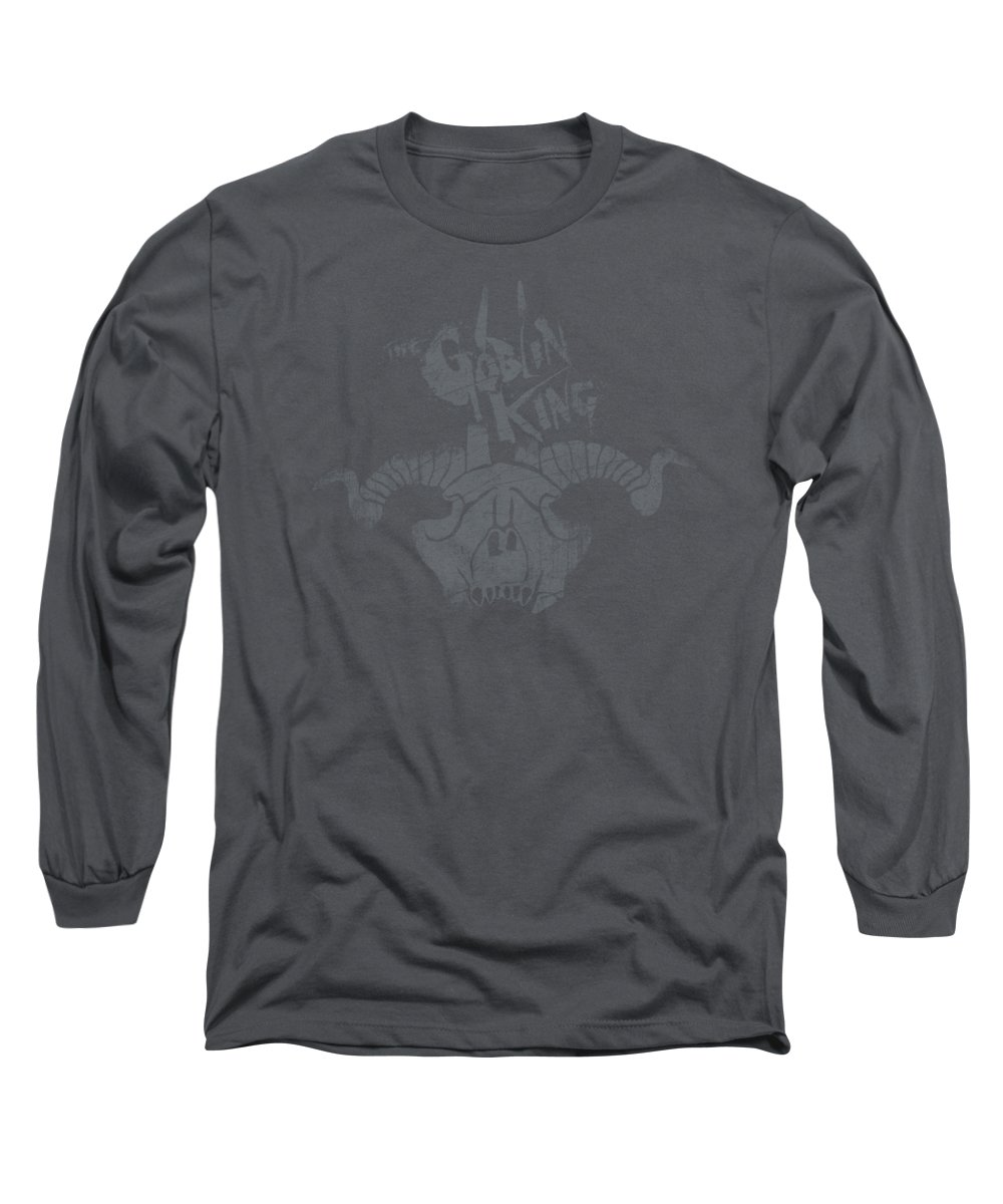 The Hobbit Long Sleeve T-Shirt featuring the digital art The Hobbit - Golin King Symbol by Brand A