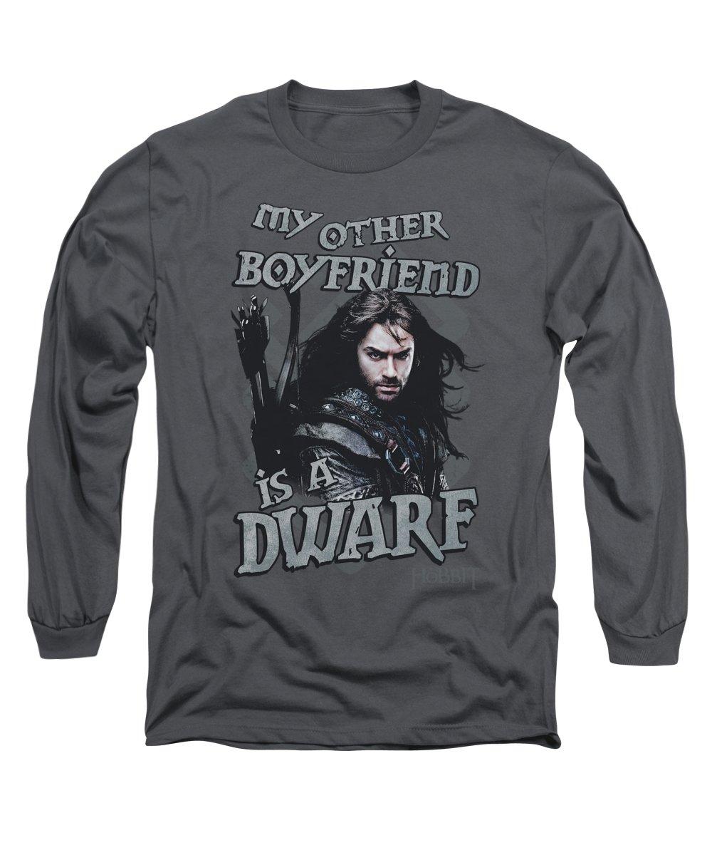 The Hobbit Long Sleeve T-Shirt featuring the digital art The Hobbit - Other Boyfriend by Brand A