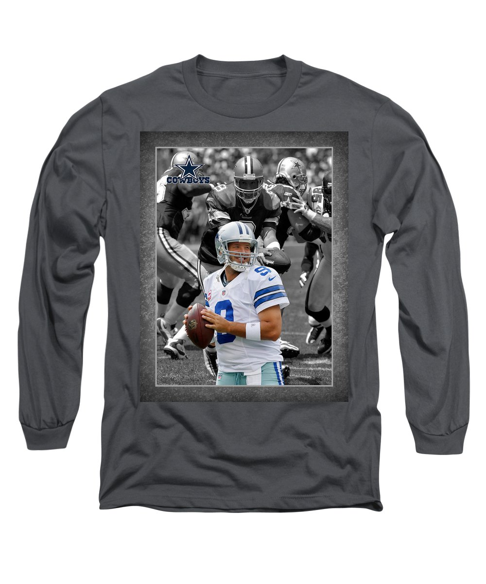 the latest 3b8bd cf7cd Tony Romo Cowboys Long Sleeve T-Shirt