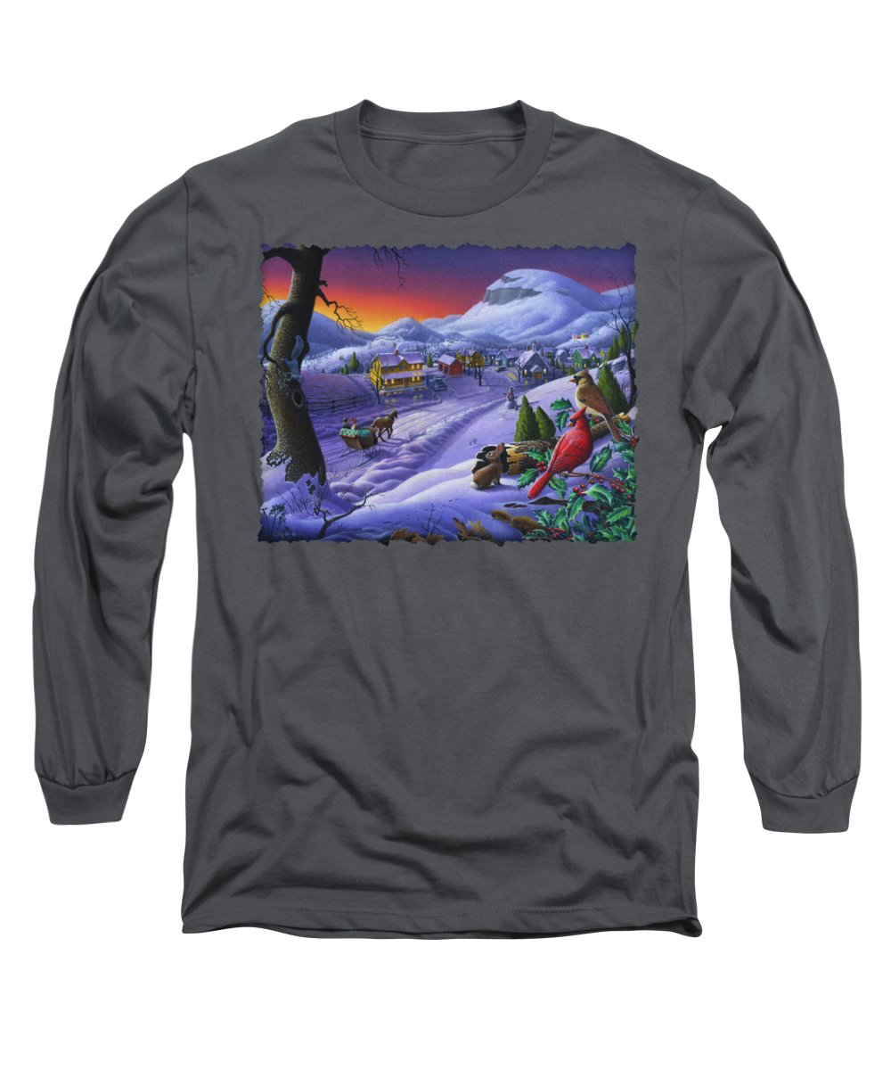 Kentucky Paintings Long Sleeve T-Shirts