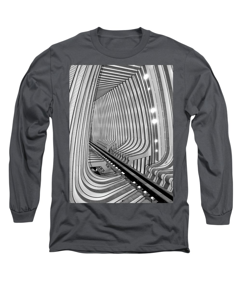 Architecture Long Sleeve T-Shirt featuring the photograph Marquis by Dick Goodman