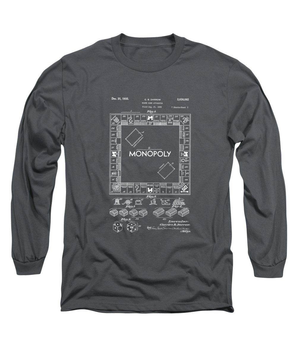Monopoly Board Game Long Sleeve T-Shirts