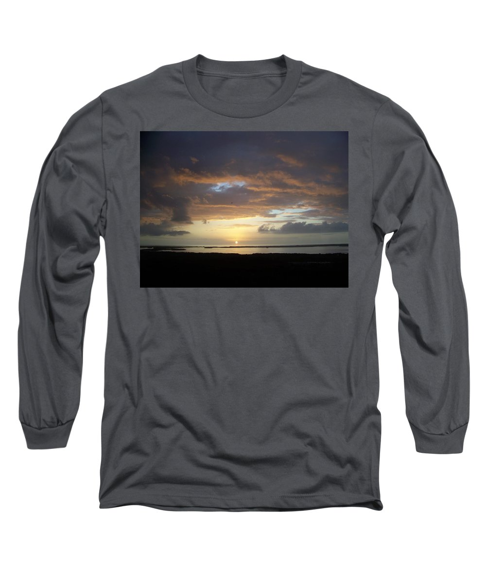 Sunset Long Sleeve T-Shirt featuring the photograph Sunset 0020 by Laurie Paci