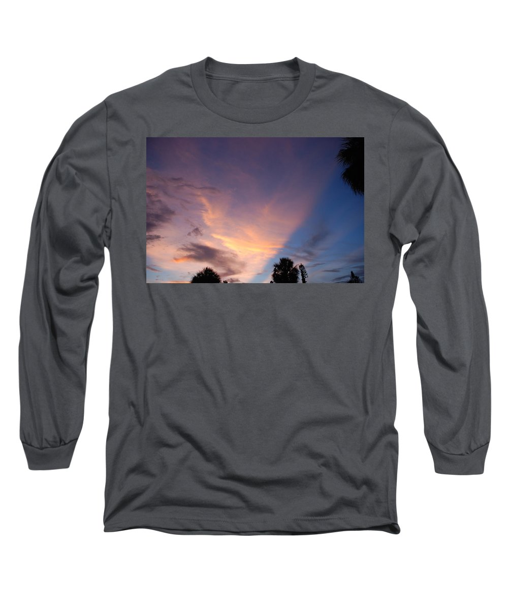 Sunset Long Sleeve T-Shirt featuring the photograph Sunset At Pine Tree by Rob Hans