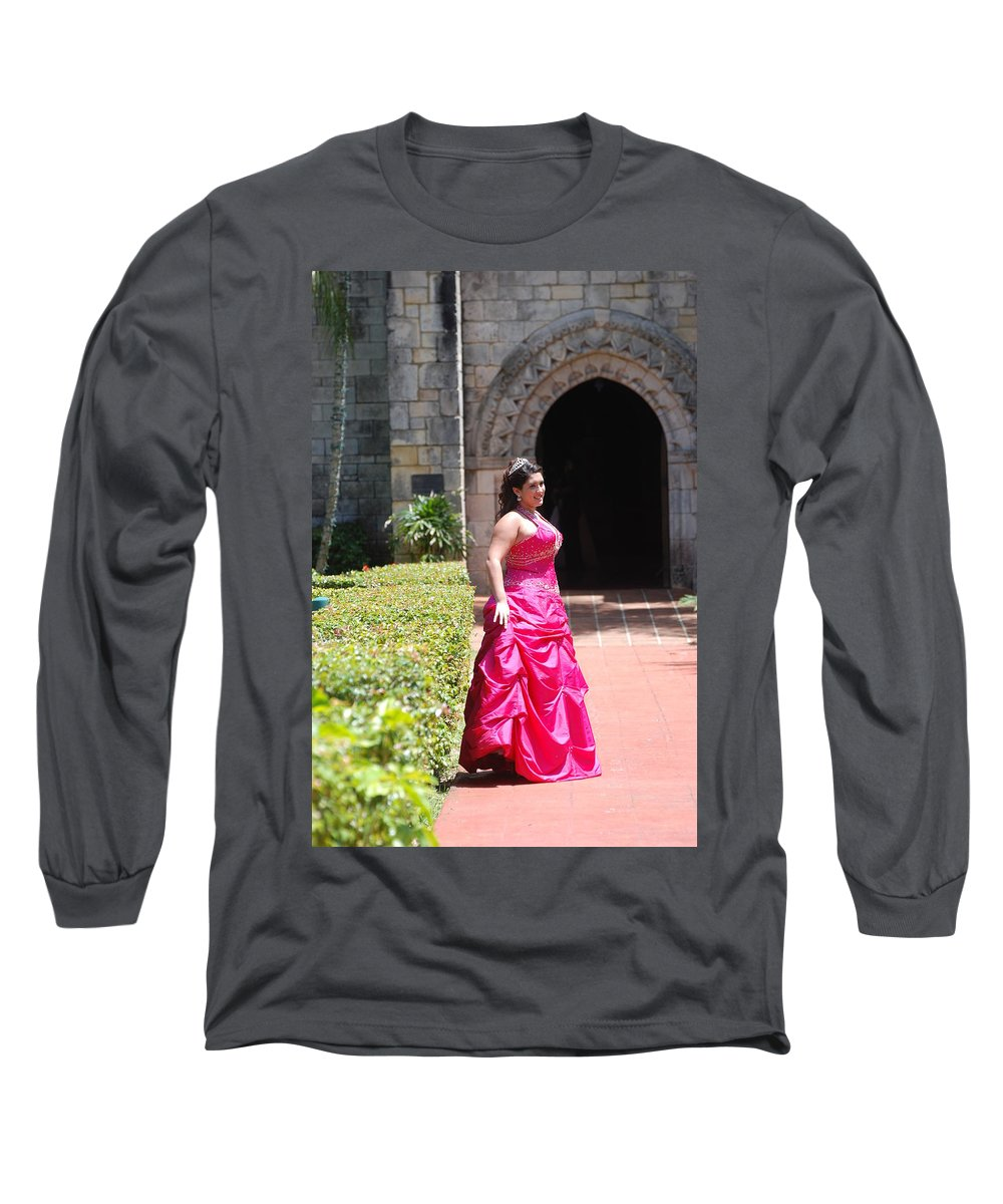 Girl Long Sleeve T-Shirt featuring the photograph The Princess by Rob Hans