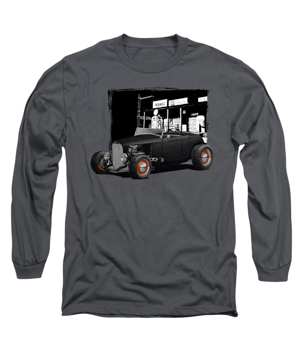 Gas Station Long Sleeve T-Shirts