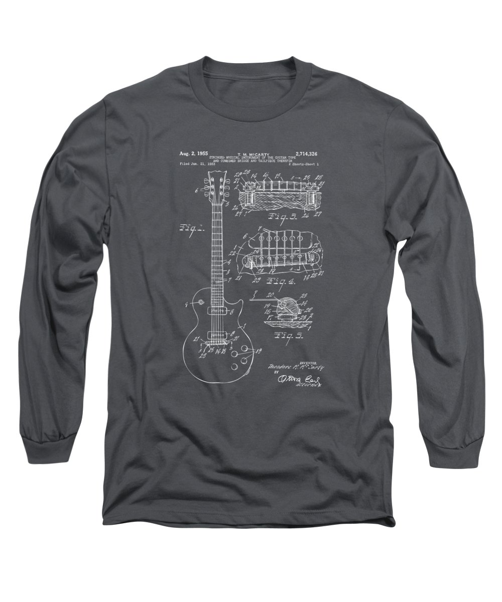 Cross-section Long Sleeve T-Shirts