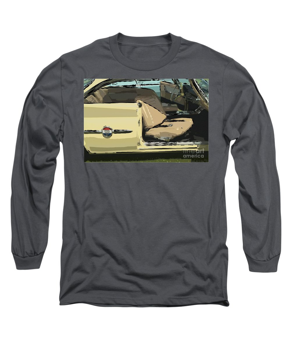 1960 Chrysler 300-f Muscle Car American Automobile Long Sleeve T-Shirt featuring the photograph 1960 Chrysler 300-f Muscle Car by David Zanzinger