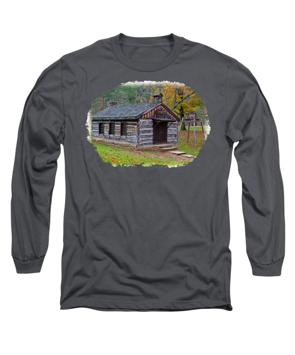 Outhouse Photographs Long Sleeve T-Shirts