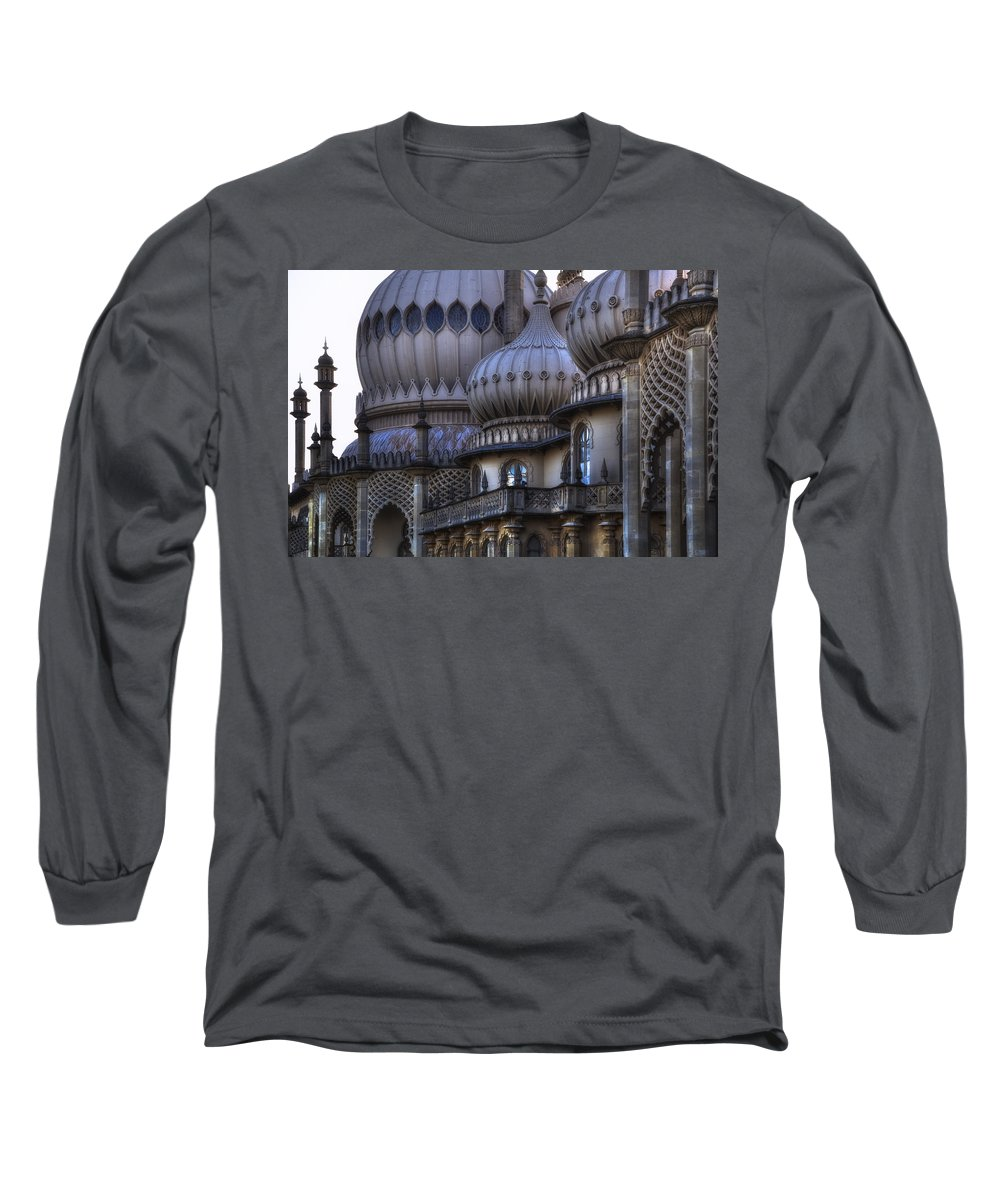 Brighton Long Sleeve T-Shirt featuring the photograph Royal Pavilion Brighton by Joana Kruse