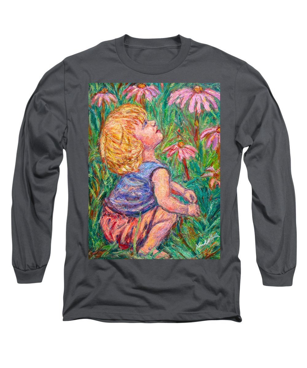 Child Long Sleeve T-Shirt featuring the painting A Beautiful Moment by Kendall Kessler
