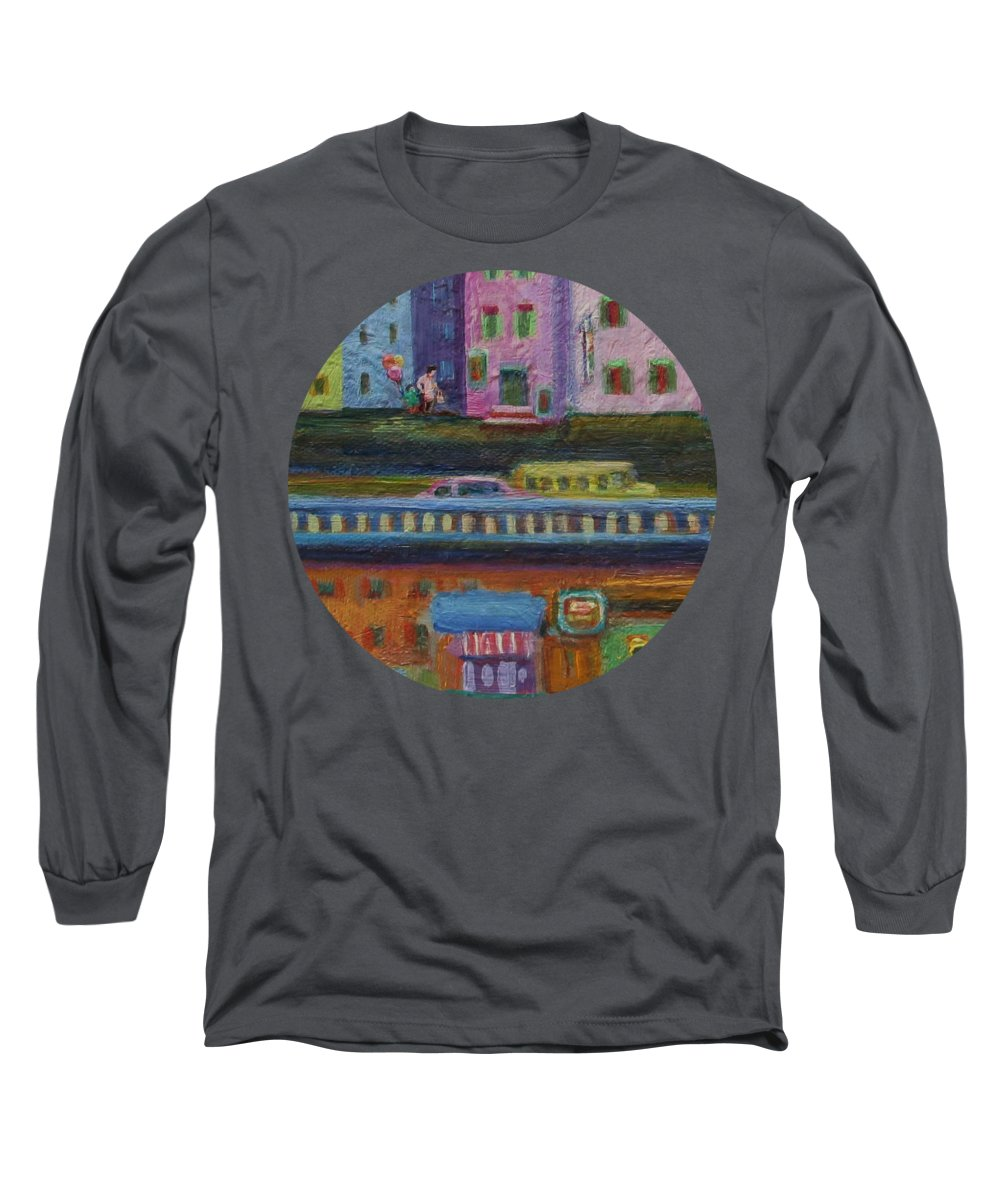 City Scene Long Sleeve T-Shirts