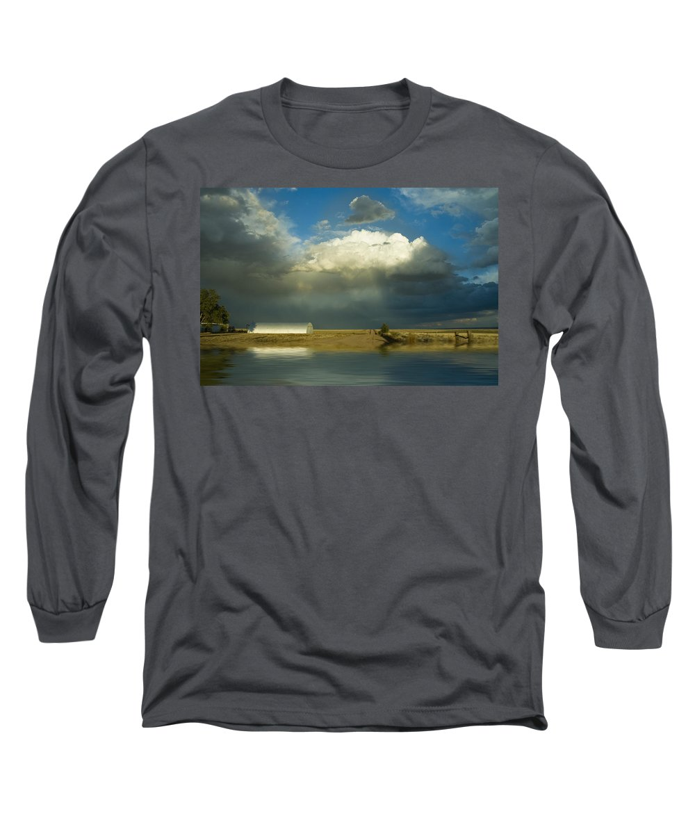 Storm Long Sleeve T-Shirt featuring the photograph After The Storm by Jerry McElroy