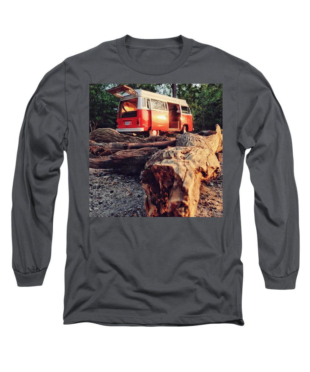 Vw Long Sleeve T-Shirt featuring the photograph Alani by the River by Andrew Weills