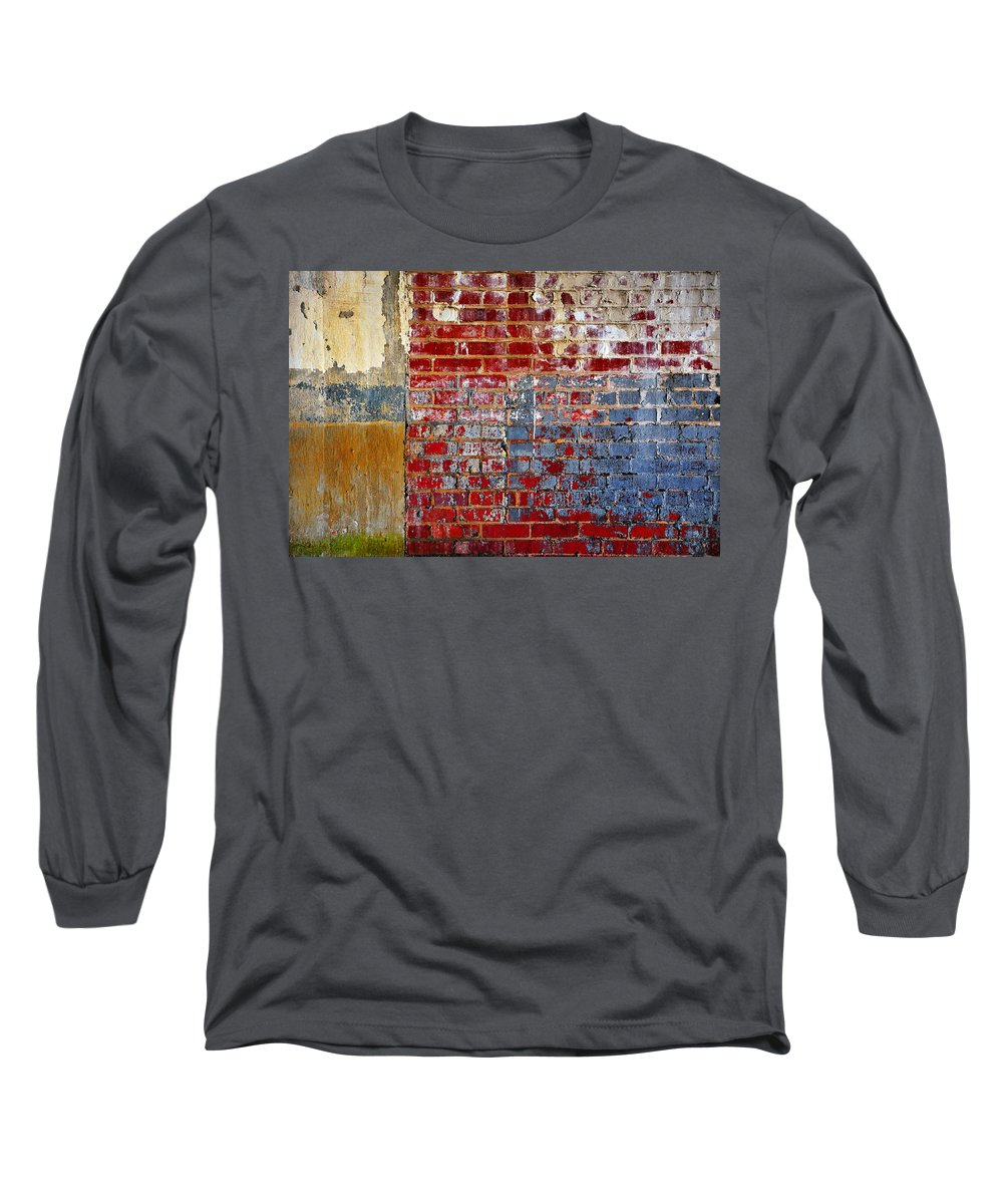 Skip Hunt Long Sleeve T-Shirt featuring the photograph America by Skip Hunt