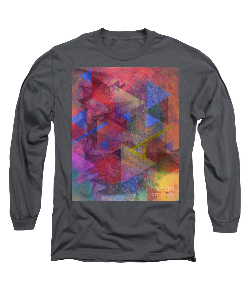 Another Time Long Sleeve T-Shirt featuring the digital art Another Time by John Beck