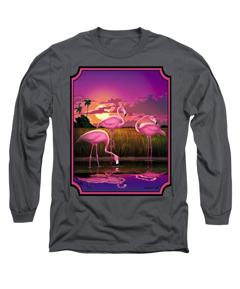 Coastal Landscape Long Sleeve T-Shirts