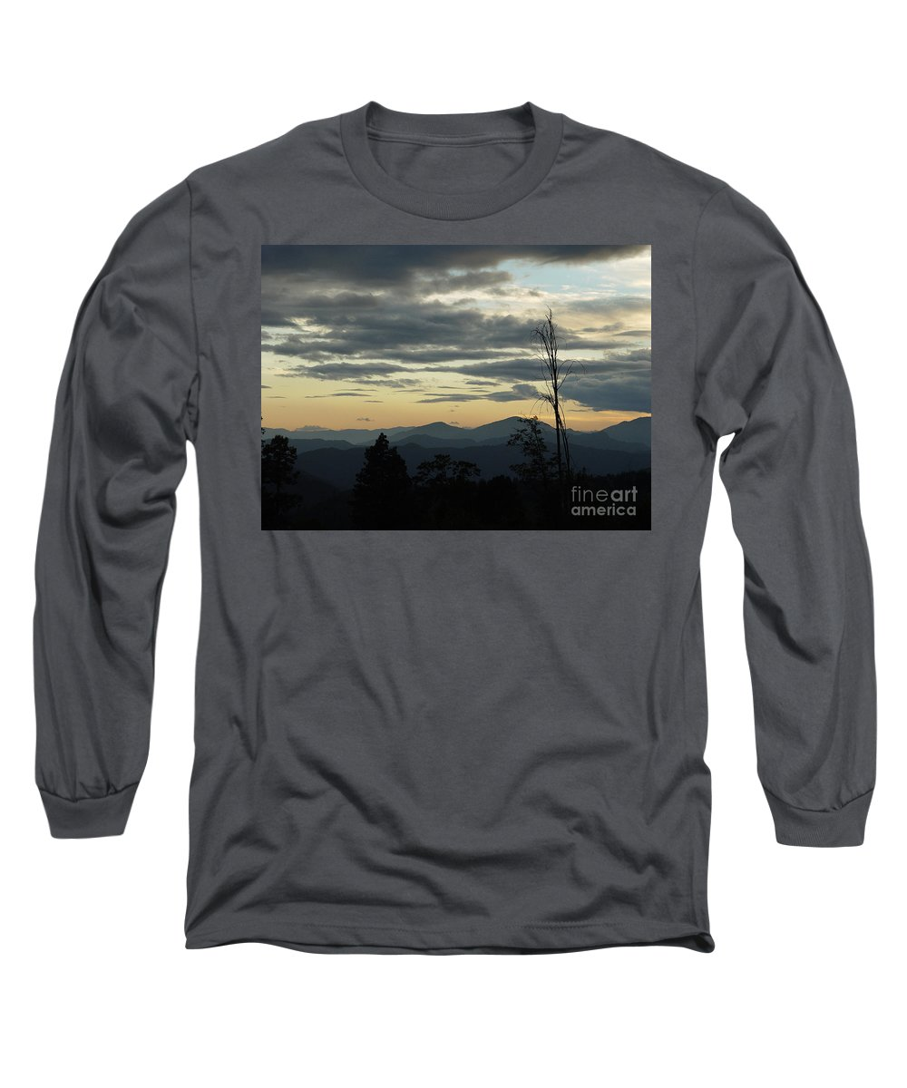 Atmospheric Long Sleeve T-Shirt featuring the photograph Atmospheric Perspective by Peter Piatt