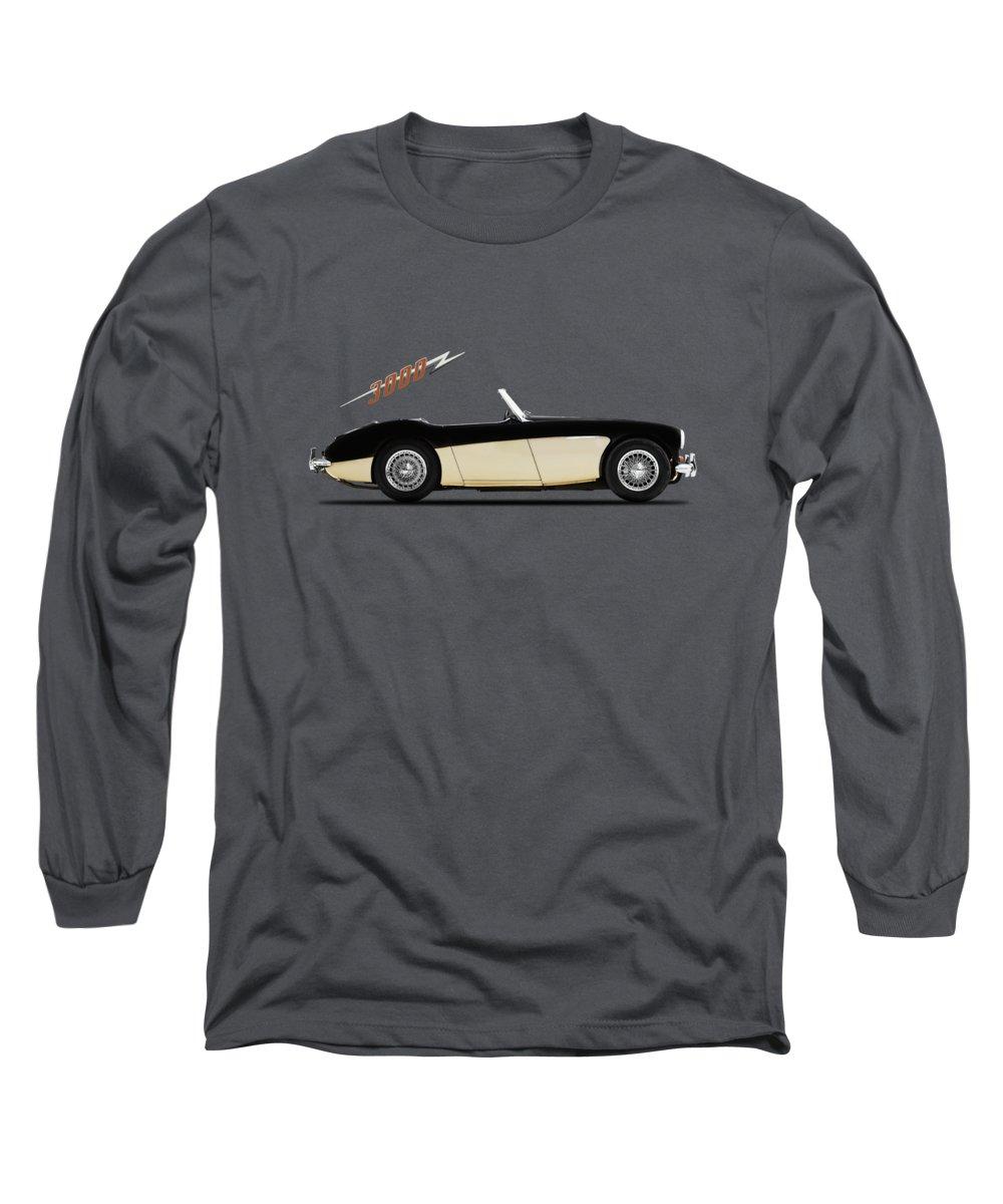 Austin Healey 3000 Long Sleeve T-Shirt featuring the photograph Austin Healey 3000 by Mark Rogan