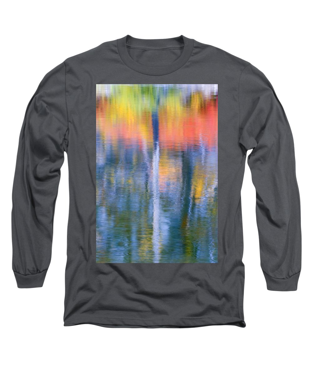 Reflection Long Sleeve T-Shirt featuring the photograph Autumn Resurrection by Mike Dawson