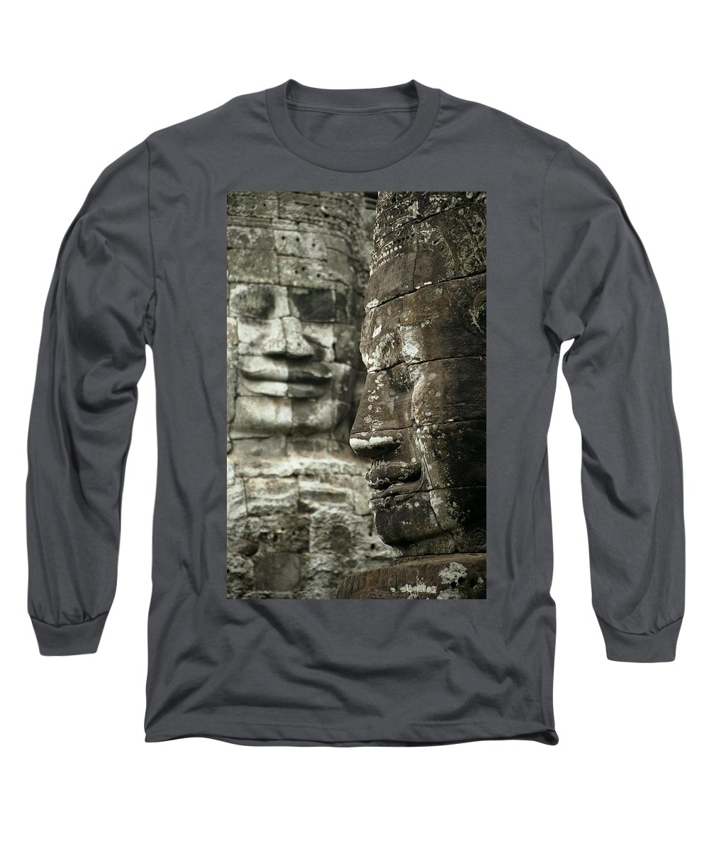 Bayon Long Sleeve T-Shirt featuring the photograph Bayonii by Patrick Klauss