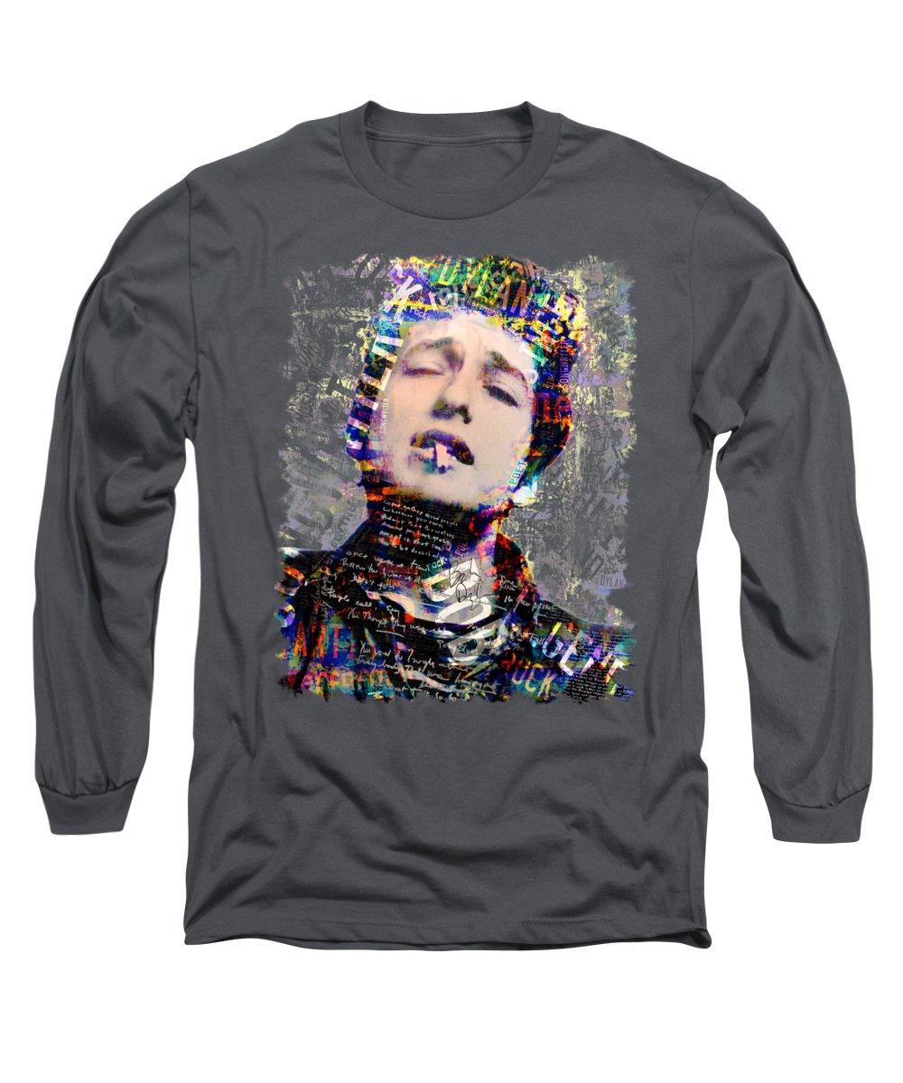 Bob Dylan Long Sleeve T-Shirts