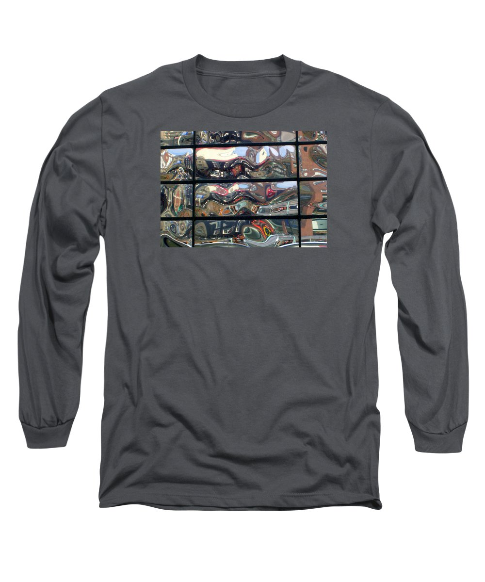 Amsterdam Long Sleeve T-Shirt featuring the photograph Canal Wave Amsterdam. by Rodger Insh
