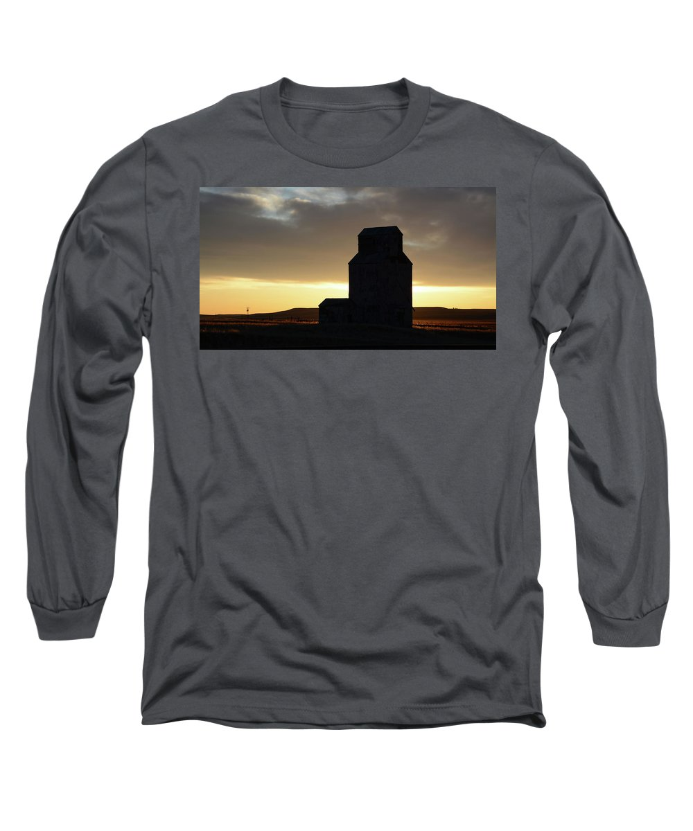 Castle Long Sleeve T-Shirt featuring the photograph Castles Of The Farmlands by Whispering Peaks Photography