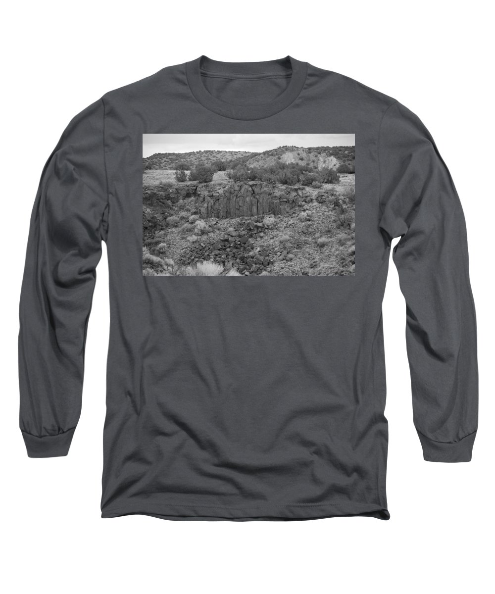 Rocks Long Sleeve T-Shirt featuring the photograph Cochiti Rocks by Rob Hans