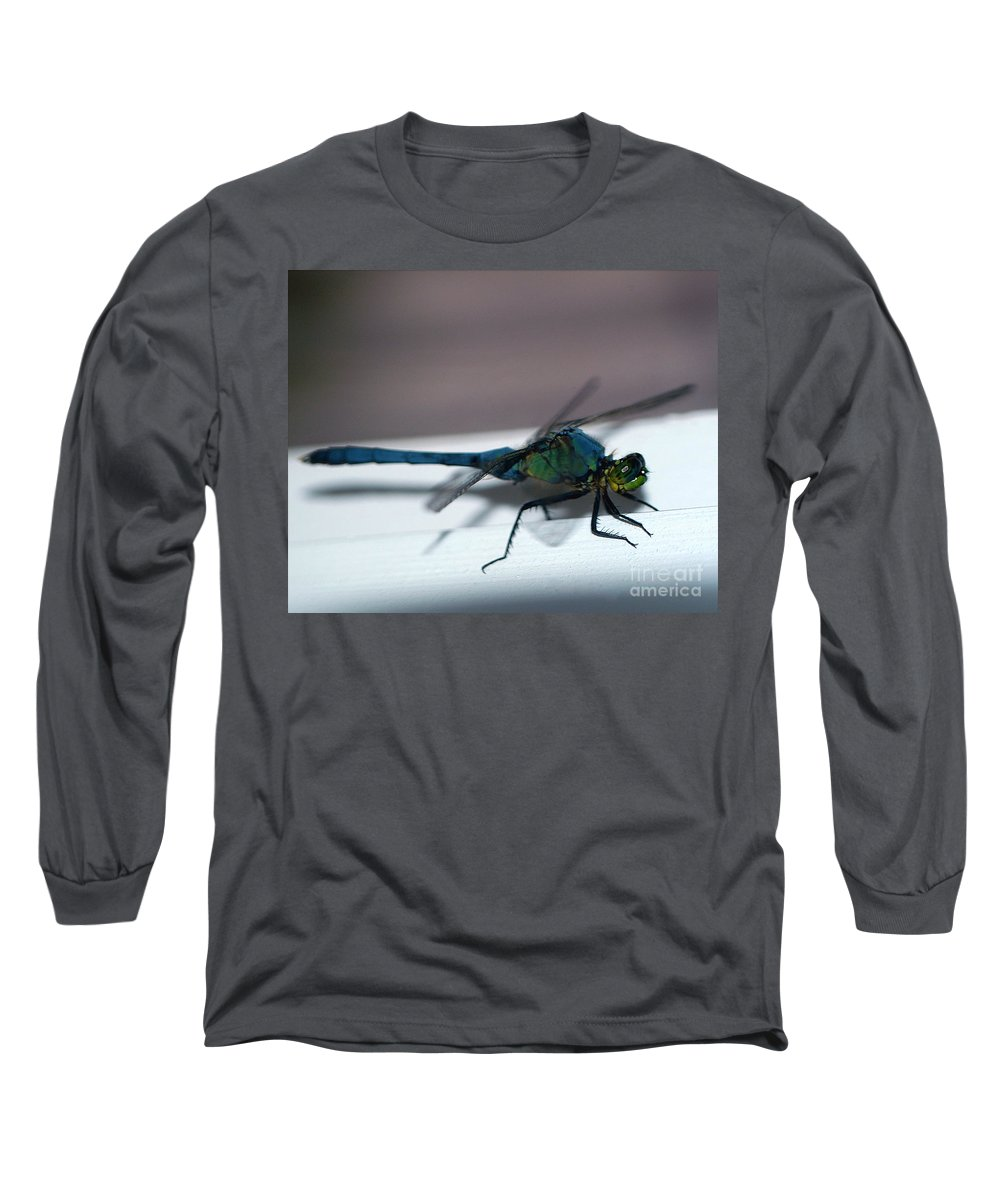 Clay Long Sleeve T-Shirt featuring the photograph Colorful Dragon by Clayton Bruster