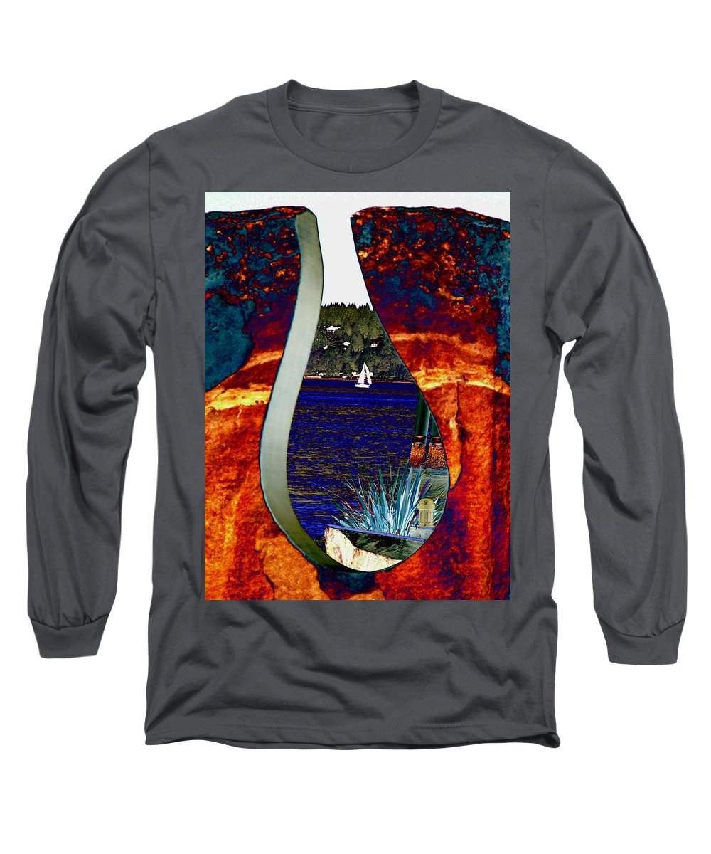 Bremerton Long Sleeve T-Shirt featuring the photograph Come Sail Away by Tim Allen