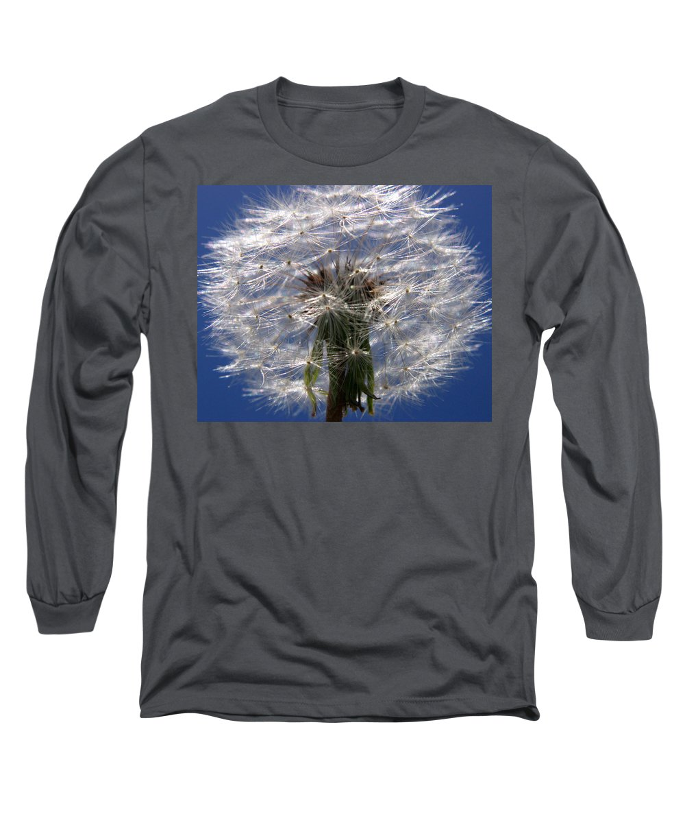 Dandelion Long Sleeve T-Shirt featuring the photograph Dandelion by Ralph A Ledergerber-Photography