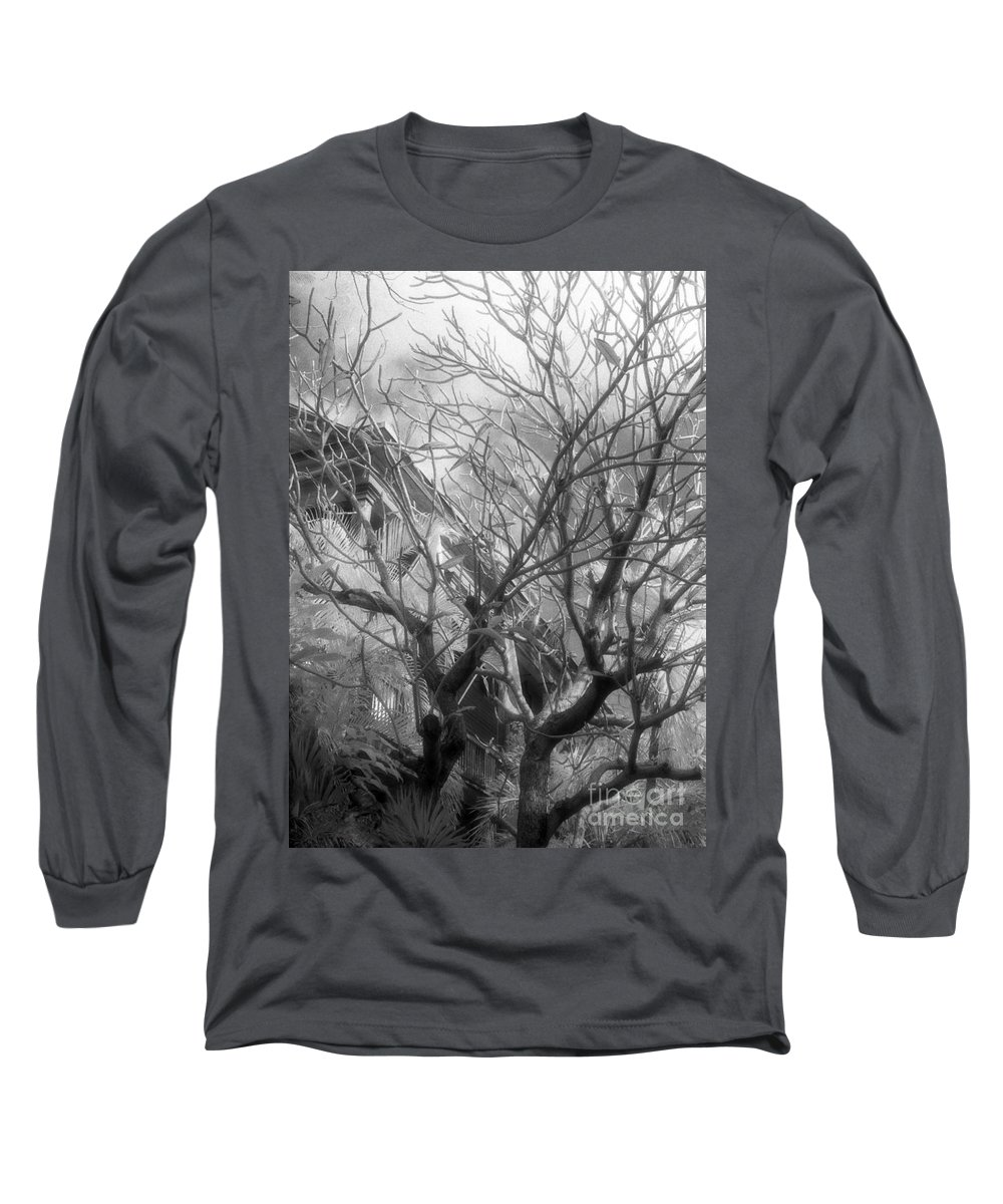 Infrared Photography Long Sleeve T-Shirt featuring the photograph Day Dream by Richard Rizzo
