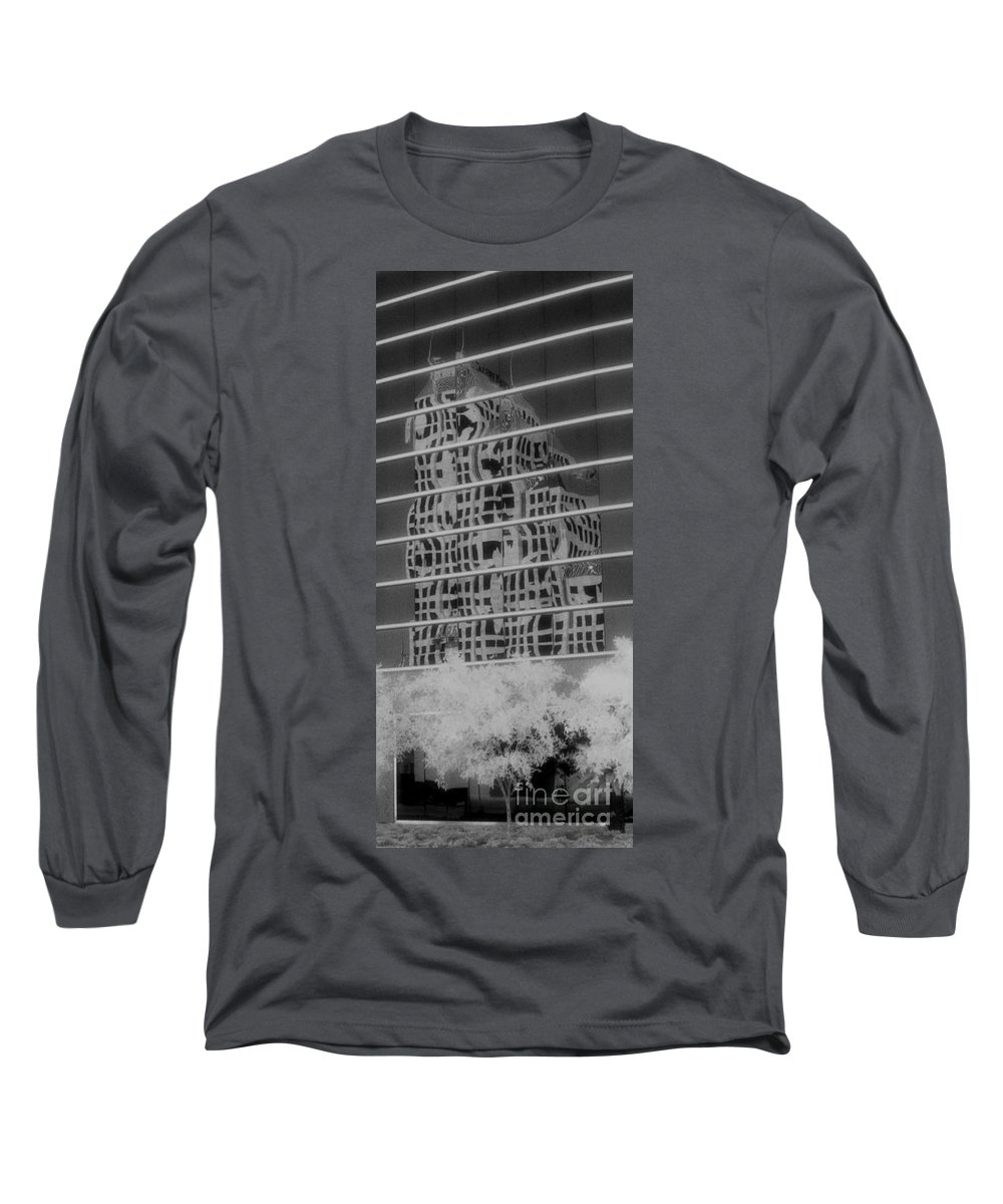 Distorted Long Sleeve T-Shirt featuring the photograph Distorted Views by Richard Rizzo