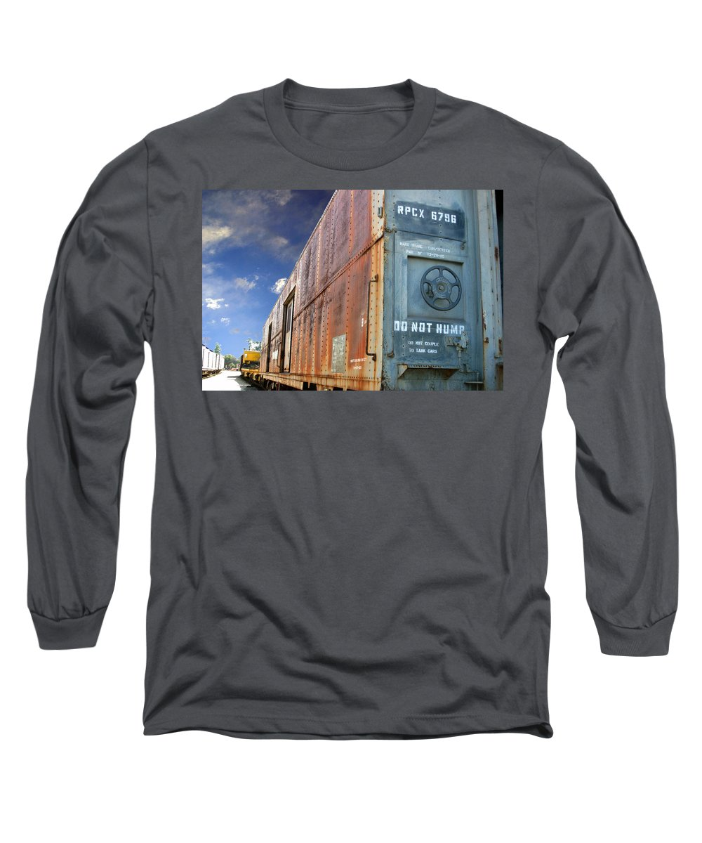 Do Not Hump Long Sleeve T-Shirt featuring the photograph Do Not Hump by Anthony Jones