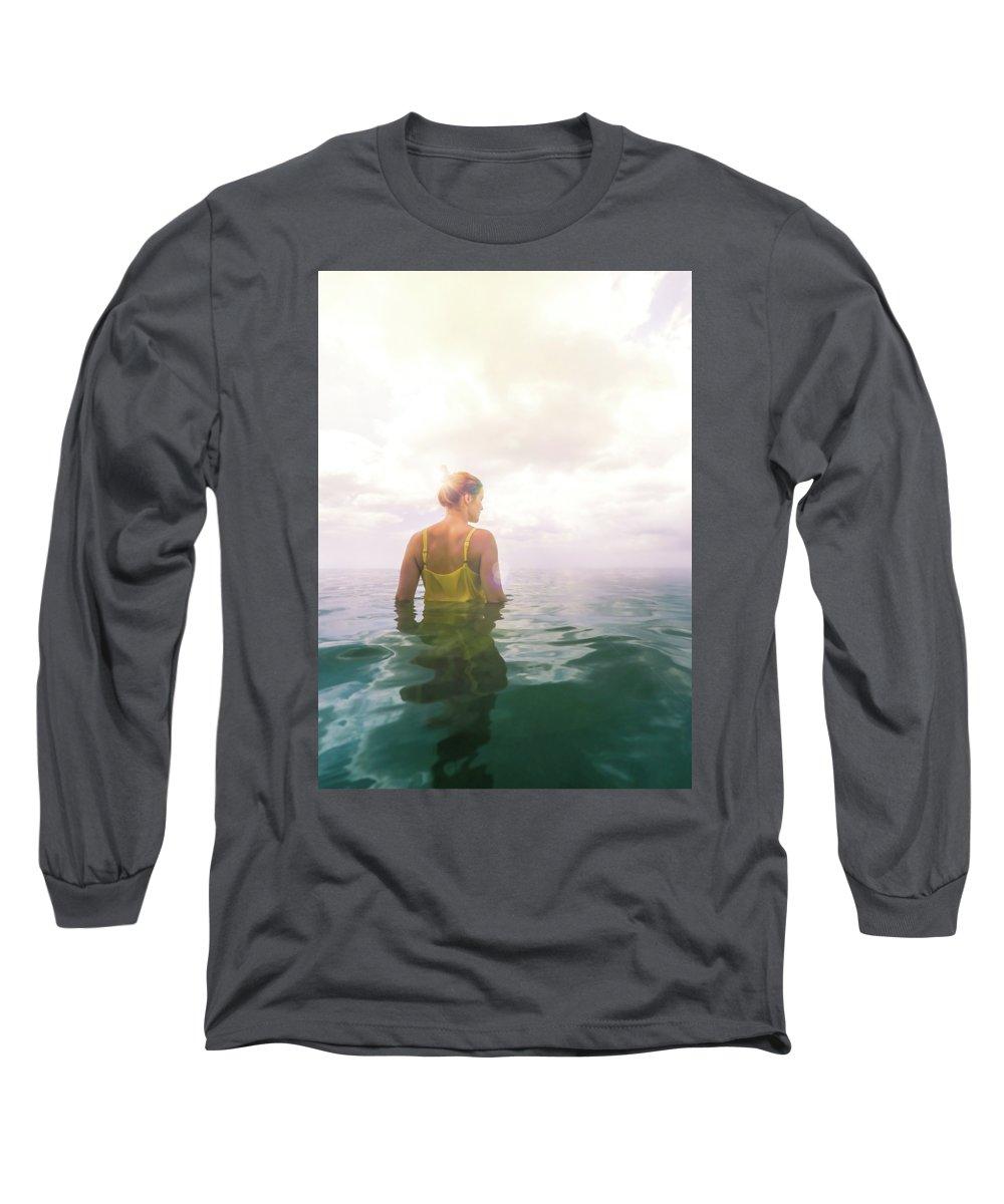 Beach Photographs Long Sleeve T-Shirts