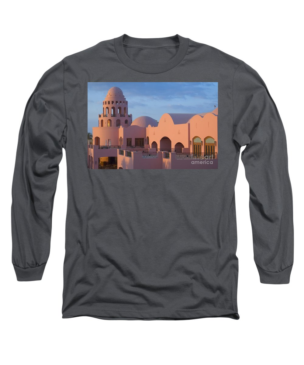 Culture Long Sleeve T-Shirt featuring the photograph Fantasy Castle by Ilan Rosen