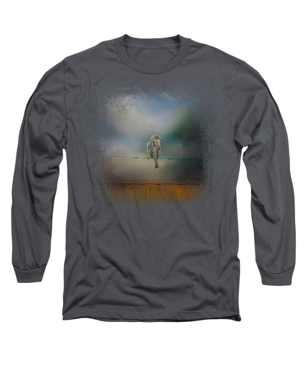 Sparrow Long Sleeve T-Shirts