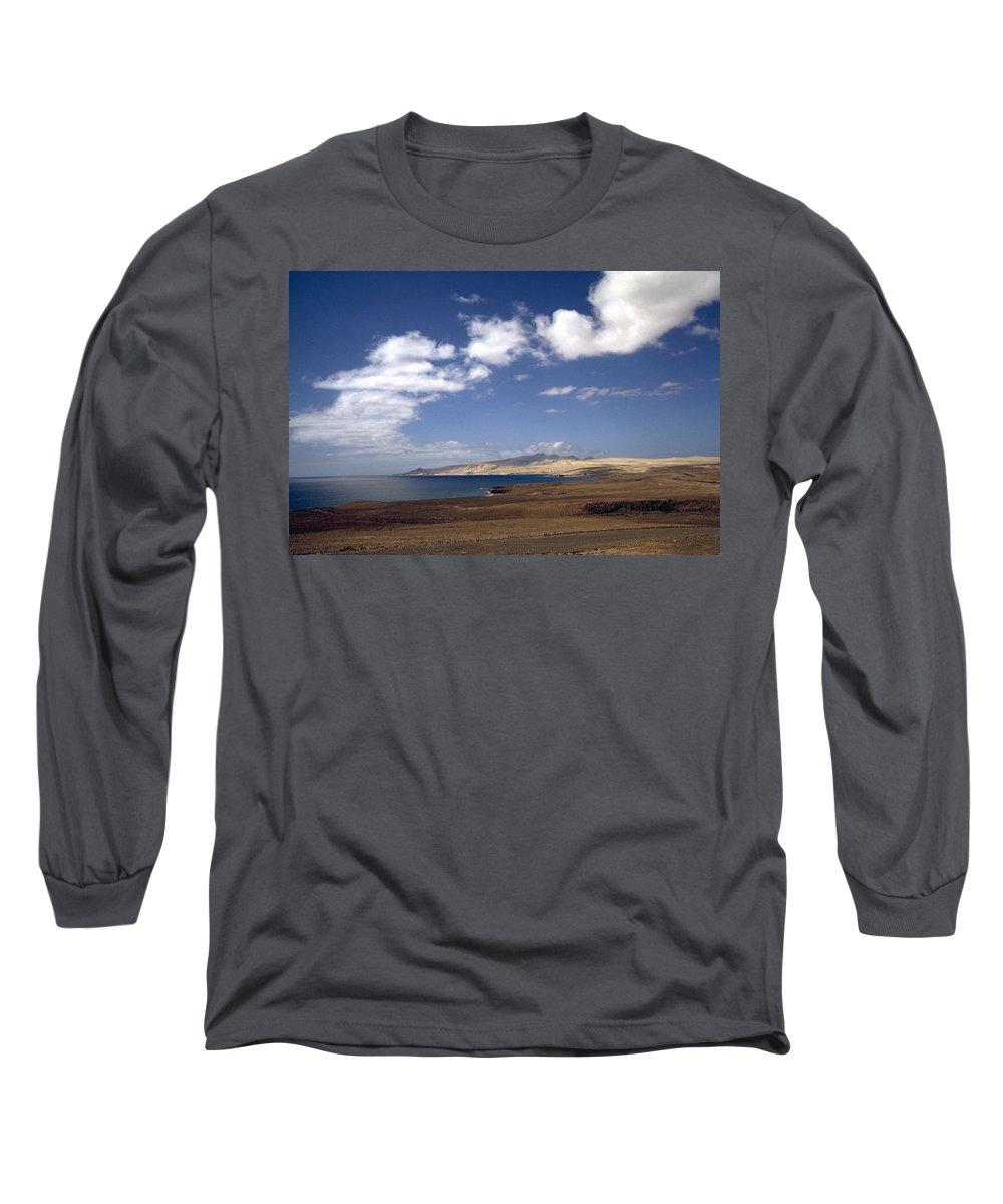 Fuerteventura Long Sleeve T-Shirt featuring the photograph Fuerteventura II by Flavia Westerwelle
