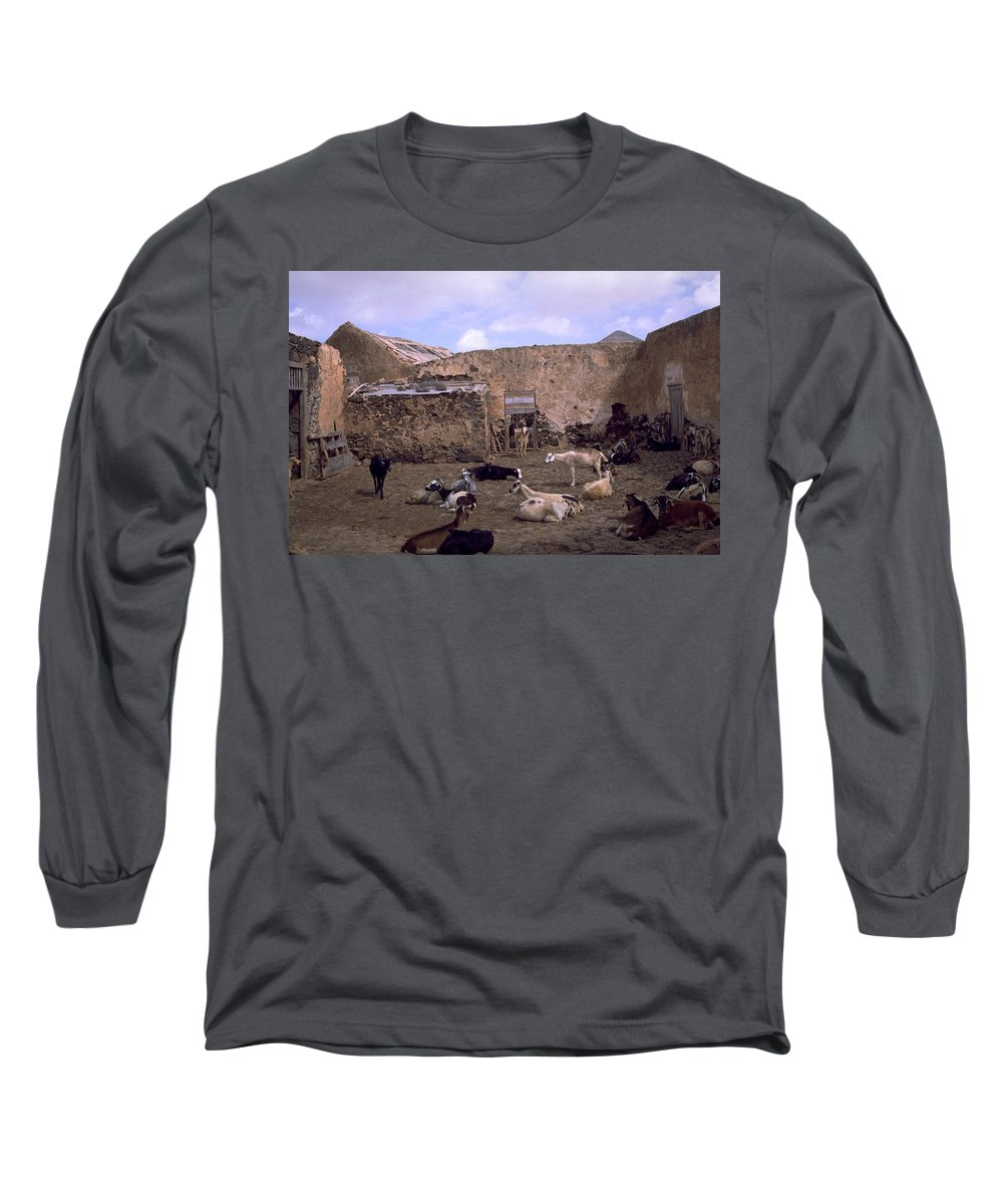 Fuerteventura Long Sleeve T-Shirt featuring the photograph Fuerteventura IIi by Flavia Westerwelle