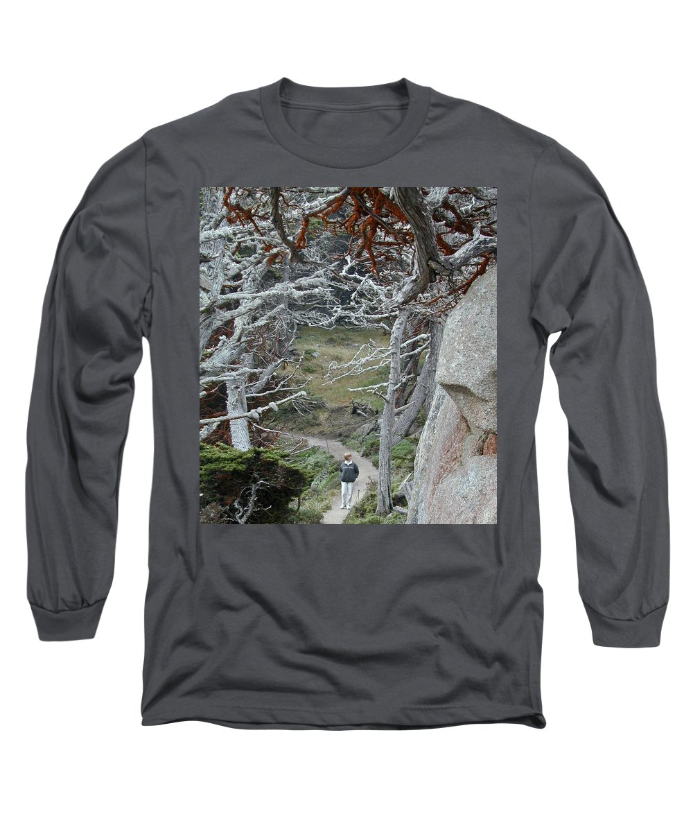 Lichens Long Sleeve T-Shirt featuring the photograph Ghost Trees by Douglas Barnett