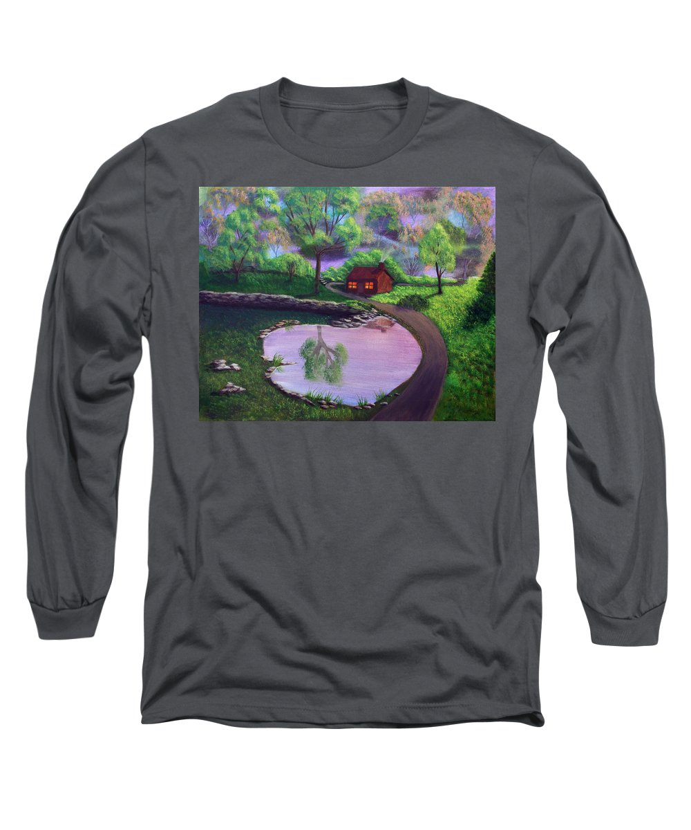 Light Long Sleeve T-Shirt featuring the painting Good Spring Morning by Dawn Blair